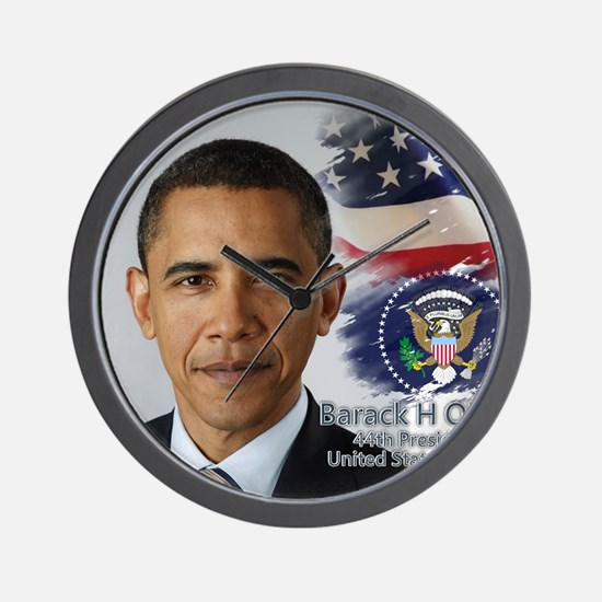 Obama Calendar 001 cover Wall Clock