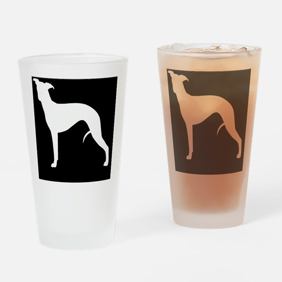whippetpatch Drinking Glass