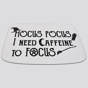 Hocus Pocus, I need Caffeine to Focus Bathmat