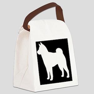 shibapatch Canvas Lunch Bag