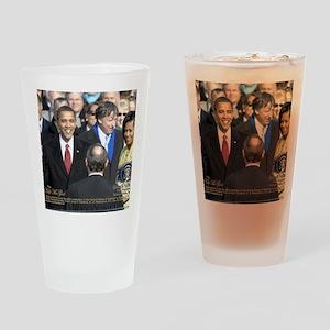 Obama Calendar 001 Drinking Glass