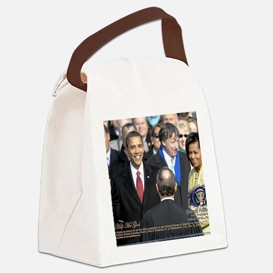 Obama Calendar 001 Canvas Lunch Bag