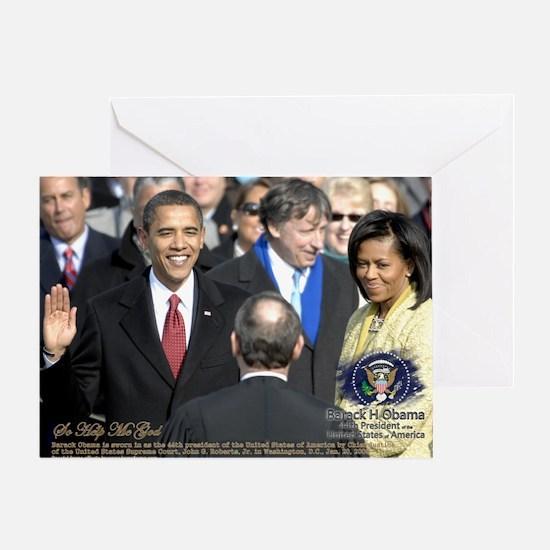 Obama Calendar 001 Greeting Card
