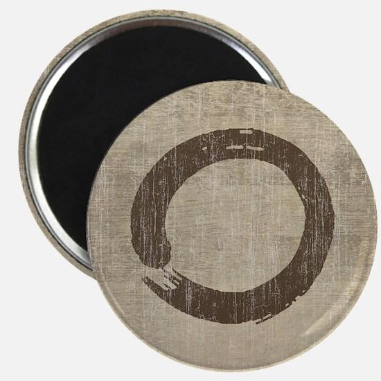 Vintage Enso Symbol Magnet