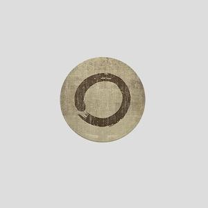 Vintage Enso Symbol Mini Button