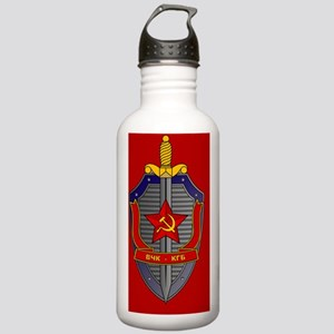 KGB Emblem Stainless Water Bottle 1.0L
