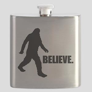 BELIEVE IN BIGFOOT Flask