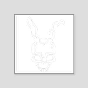 "Frank the rabbit Square Sticker 3"" x 3"""