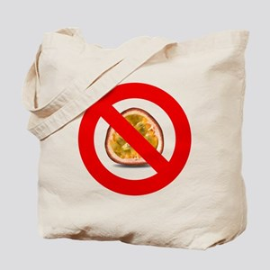 Stop Passion Fruit Allergies Large Tote Bag