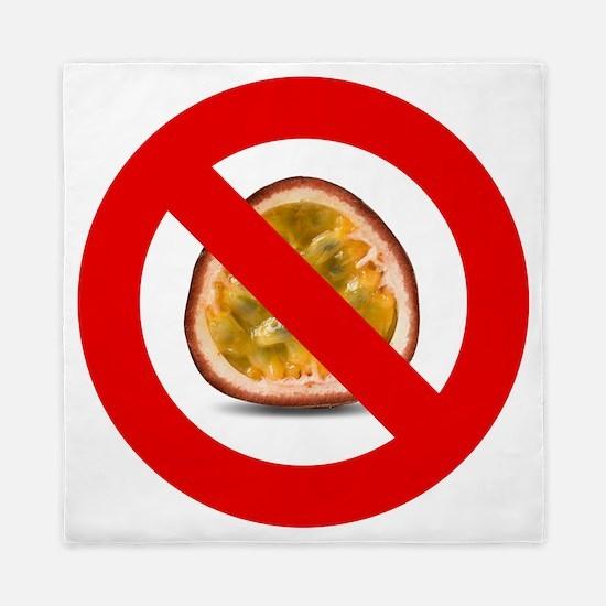 Stop Passion Fruit Allergies Large Queen Duvet