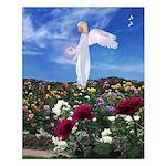 April Birthday Angel : Small Poster