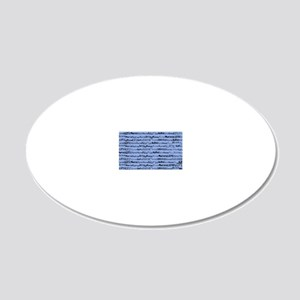 Nurse Nurse Nurse Ceil Blue  20x12 Oval Wall Decal