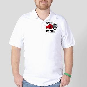 Gegen Nazis 01-2011 F 3c Golf Shirt