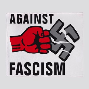 Gegen Nazis 01-2011 F 3c Throw Blanket