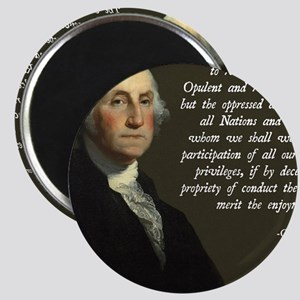 George Washington Immigration Quote Magnet
