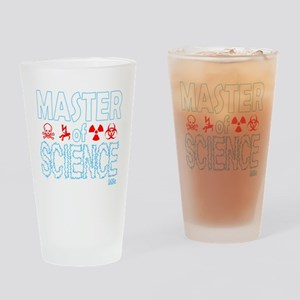 Master of Science MSc Drinking Glass