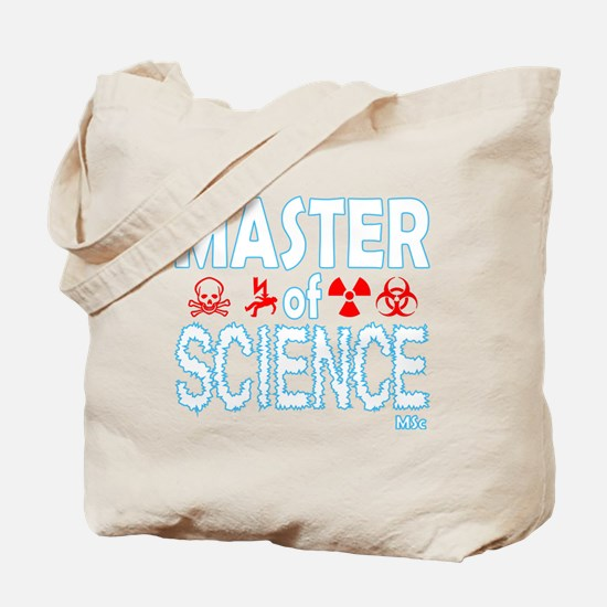 Master of Science MSc Tote Bag