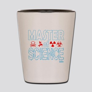 Master of Science MSc Shot Glass
