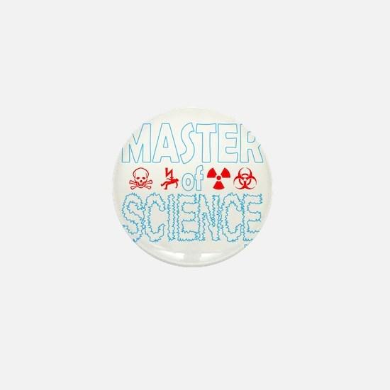 Master of Science MSc Mini Button
