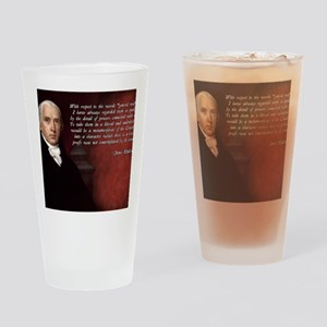 James Madison Quote Drinking Glass