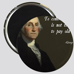 George Washington Debt Quote Magnet
