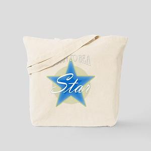 Star_blue Tote Bag