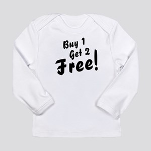 triplets buy 1 get 2 copy Long Sleeve T-Shirt