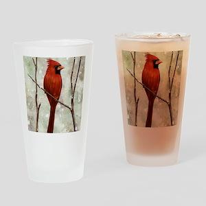 cardinal-mousepad Drinking Glass