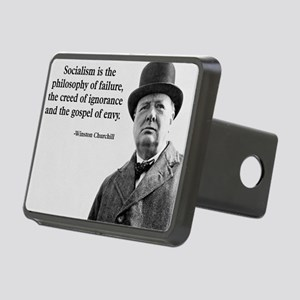 Churchill Anti-Socialism Q Rectangular Hitch Cover