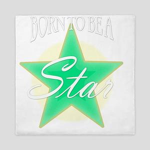 Star_Green Queen Duvet