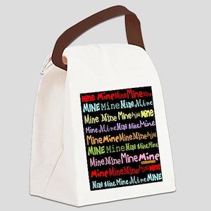 Mine Mine Mine Tote Bag Canvas Lunch Bag