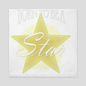 Star_Gold Queen Duvet
