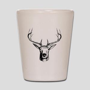 Deer Head Shot Glass