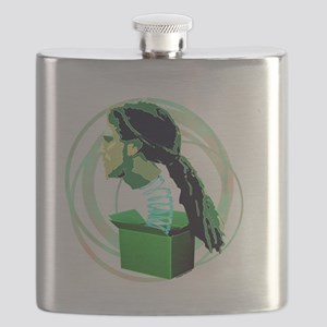 WHATS IN THE BOX GREEN Flask