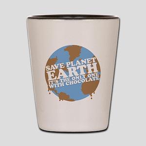 save earth Shot Glass