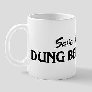 Save the DUNG BEETLES Mug