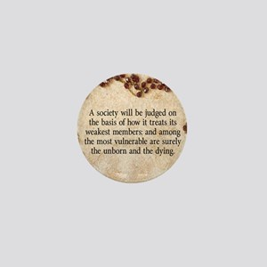 Pope John Paul II Pro-Life Mini Button