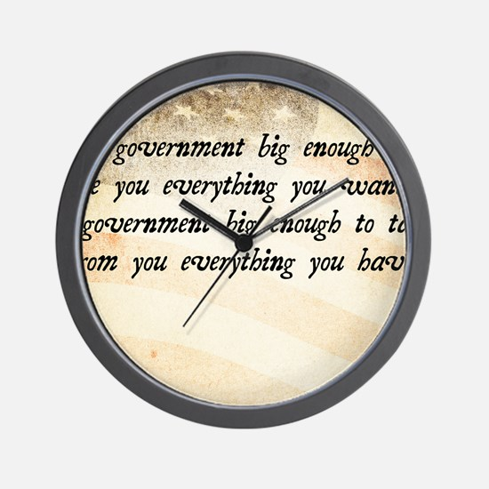 Gerald Ford Quote Wall Clock