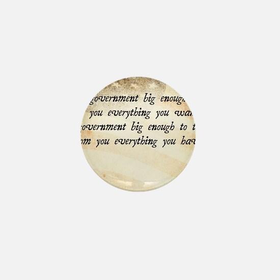 Gerald Ford Quote Mini Button