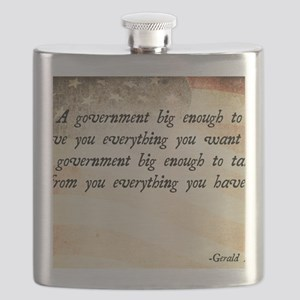 Gerald Ford Quote Flask
