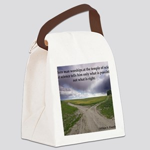 Eisenhower Quote Canvas Lunch Bag
