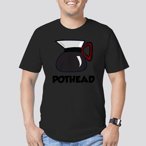 coffeePoth1A Men's Fitted T-Shirt (dark)