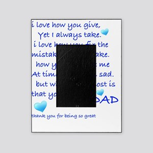 Happy Birthday Daddy Picture Frames Cafepress