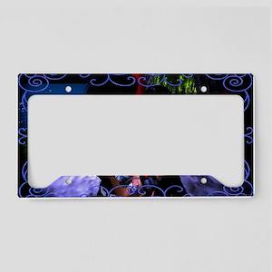 Moonlit Dance License Plate Holder