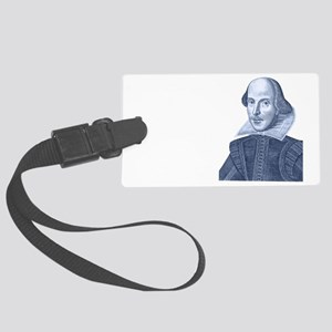 Franklin Quote Large Luggage Tag