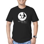 Prose Before Hoes - Shakespeare Quote Men's Fitted