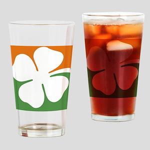 MajorLeagueIrishiPhone4Slider Drinking Glass