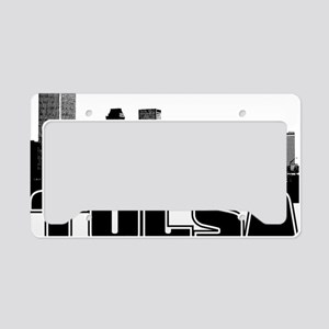 Tulsa Skyline License Plate Holder