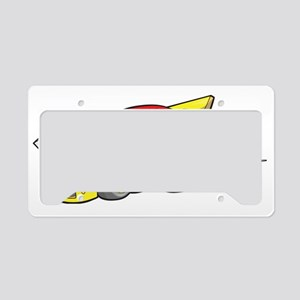 Hot Rod License Plate Holder