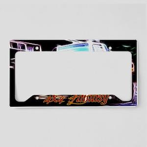 4x4 Fantasy License Plate Holder